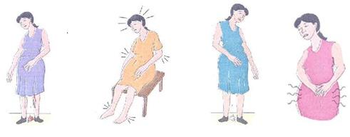 El ejercicio del dolor en la espalda y la cabeza para las mujeres
