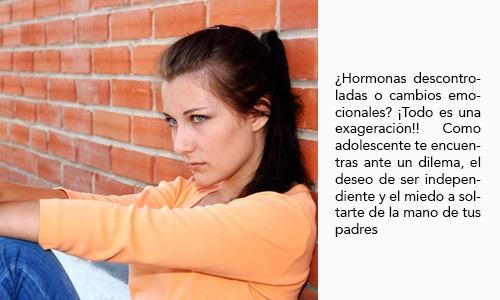 Cambios emocionales del adolescente