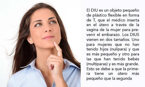 El Dispositivo Intrauterino (DIU)