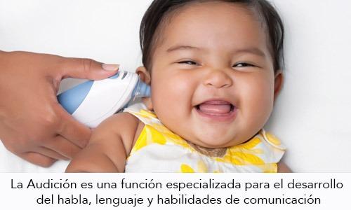 Audición, detección temprana de los problemas auditivos