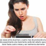Caída del cabello después del embarazo