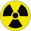 Significa que en esa área del hospital o de los laboratorios, trabajan con rayos X y substancias radioactivas