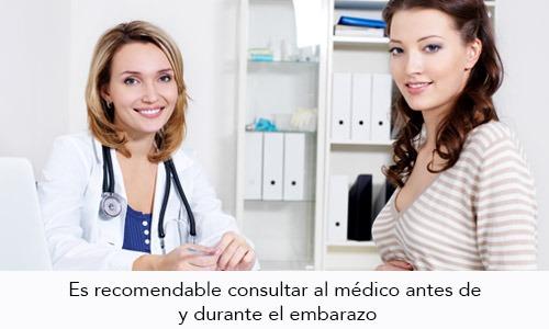 Consulta Médica antes del Embarazo