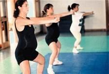 Los ejercicios aeróbicos de bajo impacto son ideales para las mujeres embarazadas