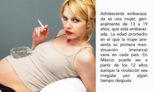 Factores de riesgo de Embarazo en la adolescencia