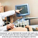 Incompetencia istmico cervical: cuello incompetente