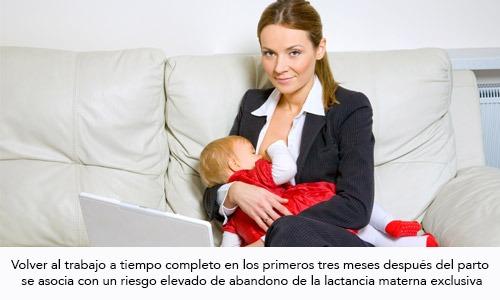 Lactancia Materna y trabajo: Consejos prácticos para trabajar y amamantar 1ra. parte