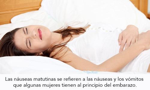 Náuseas Matutinas