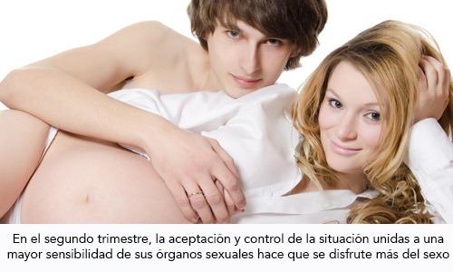 Hace mal tener relaciones en el embarazo
