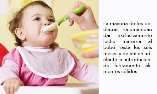 Introducción de Alimentos Sólidos