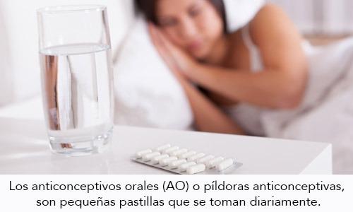 Suspensión de los anticonceptivos orales