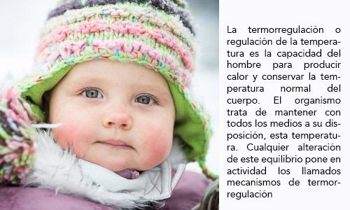 Regulación de la temperatura en el bebé recién nacido